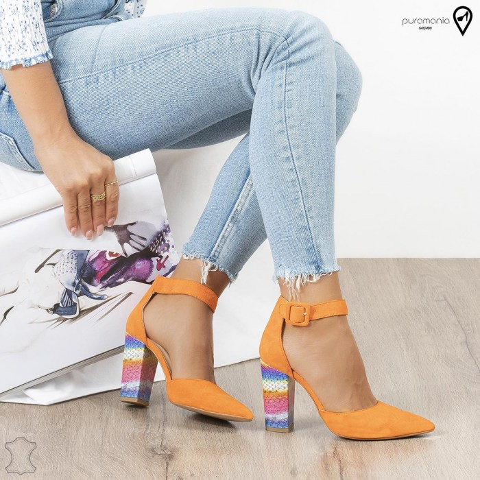 Sapato TOP DESIGN Laranja