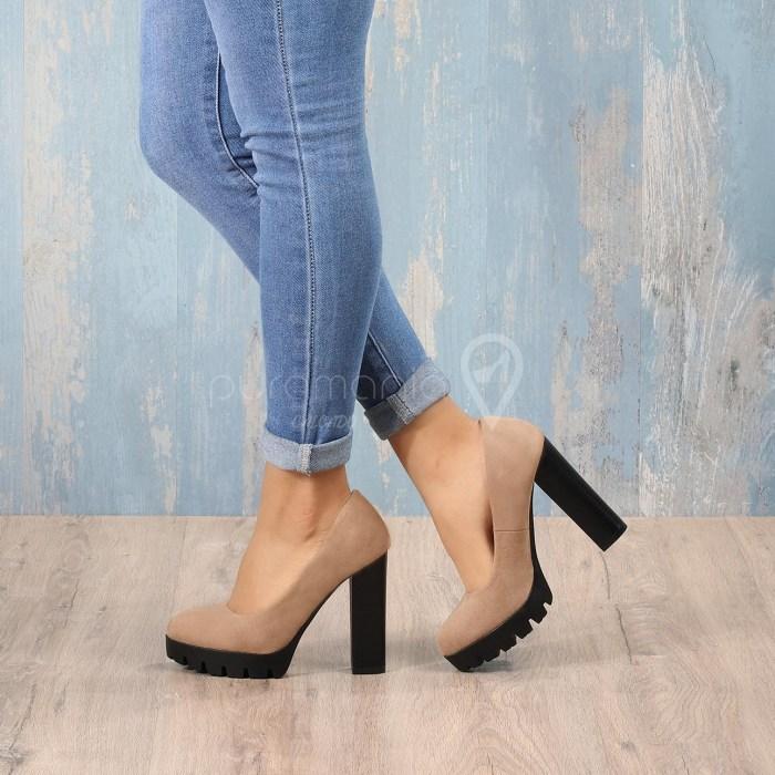 Sapato WELLS Beige