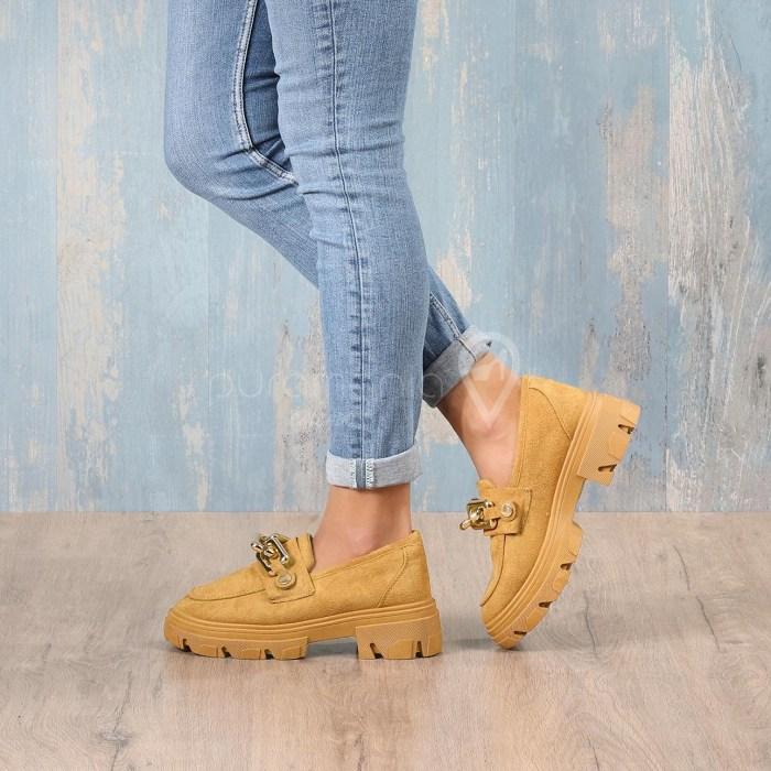 Sapato JULIE Camel