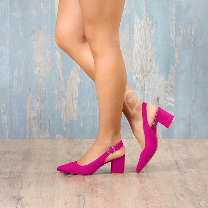 Sapato VERANIS Fuschia