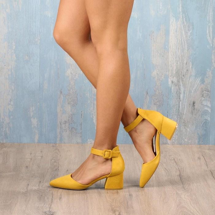 Sapato REVERSO Amarelo