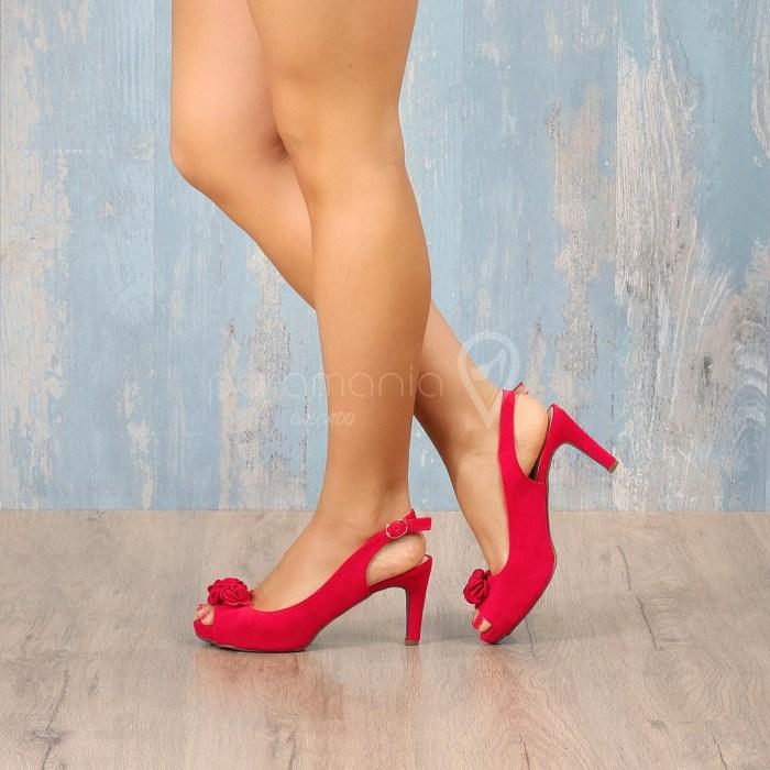 Sapato MEDITATE Vermelho