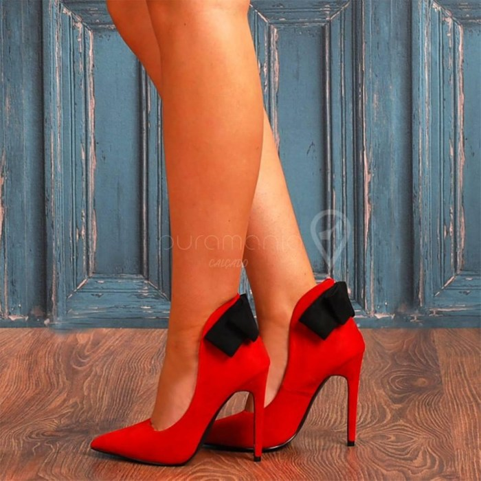 Sapato ZANOTTI Vermelho