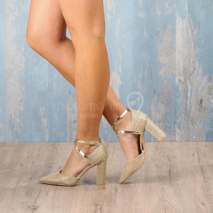 Sapato JAEGUER Dourado