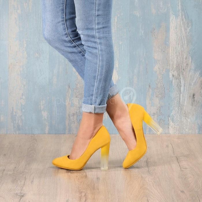Sapato FADE Amarelo