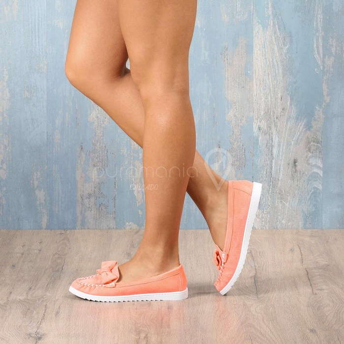 Sapato LENKA Laranja