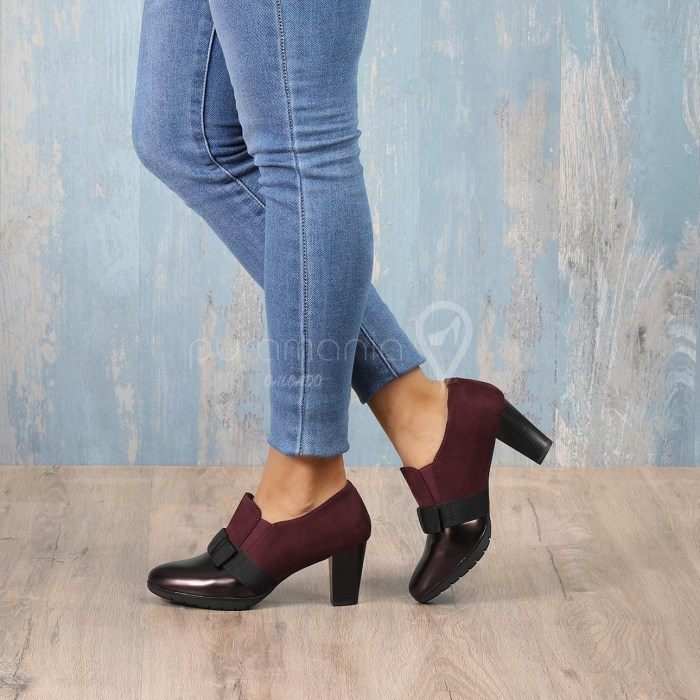 Sapato CLIFF Bordeaux