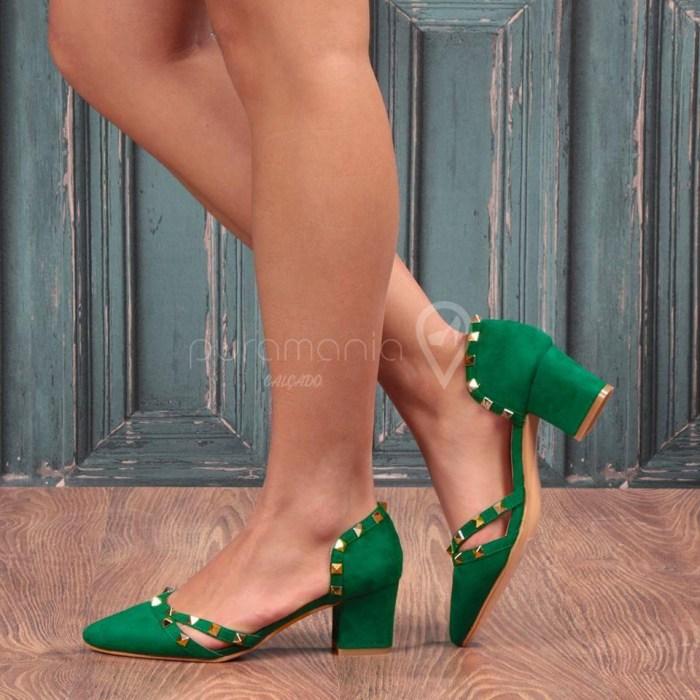 Sapato NALINI Verde