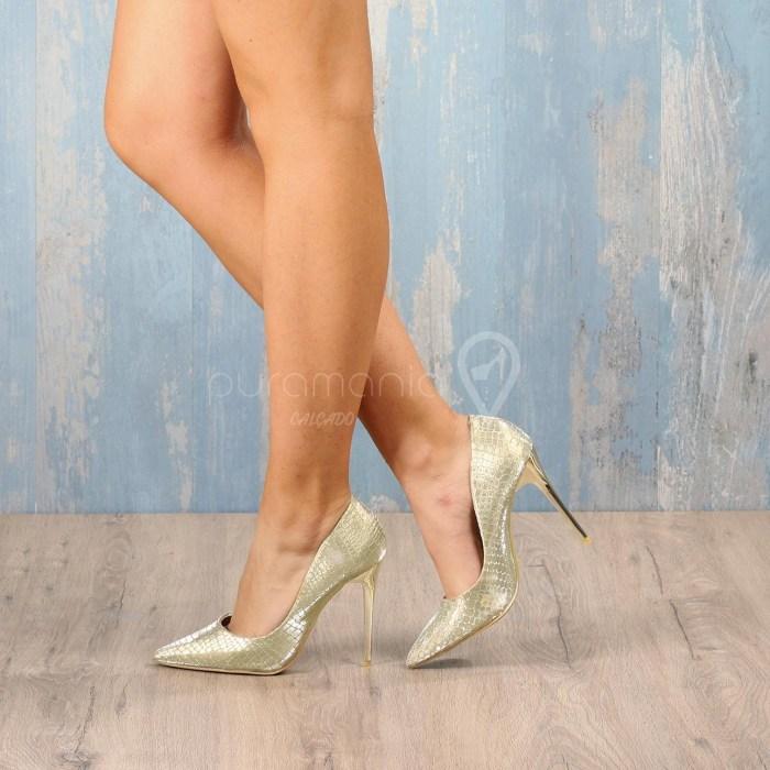 Sapato DANCE Dourado