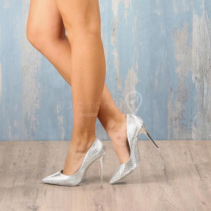 Sapato DANCE Prateado