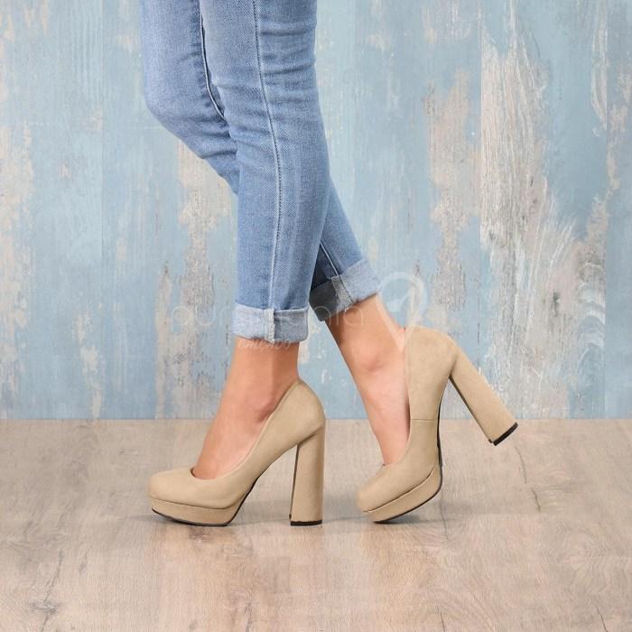 Sapato KATEDRAL Beige