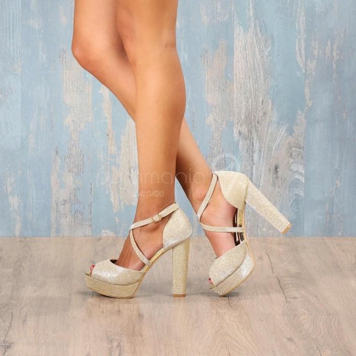 Sapato ANDREA Dourado