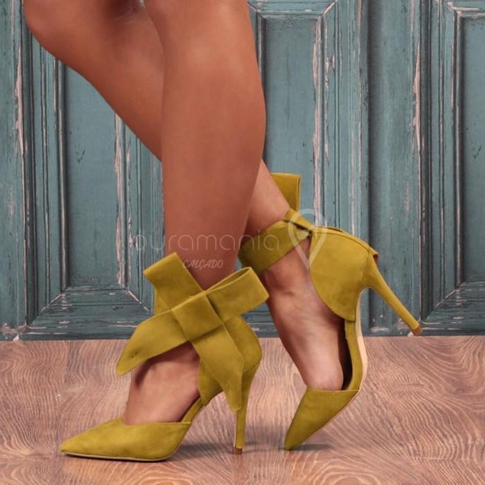 Sapato ATTITUDE Amarelo