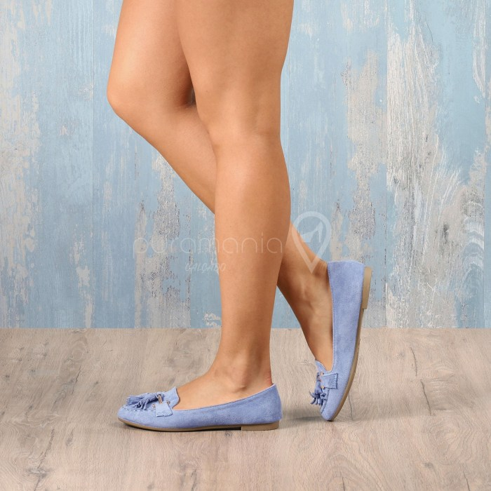 Sapato VIOLIN Azul
