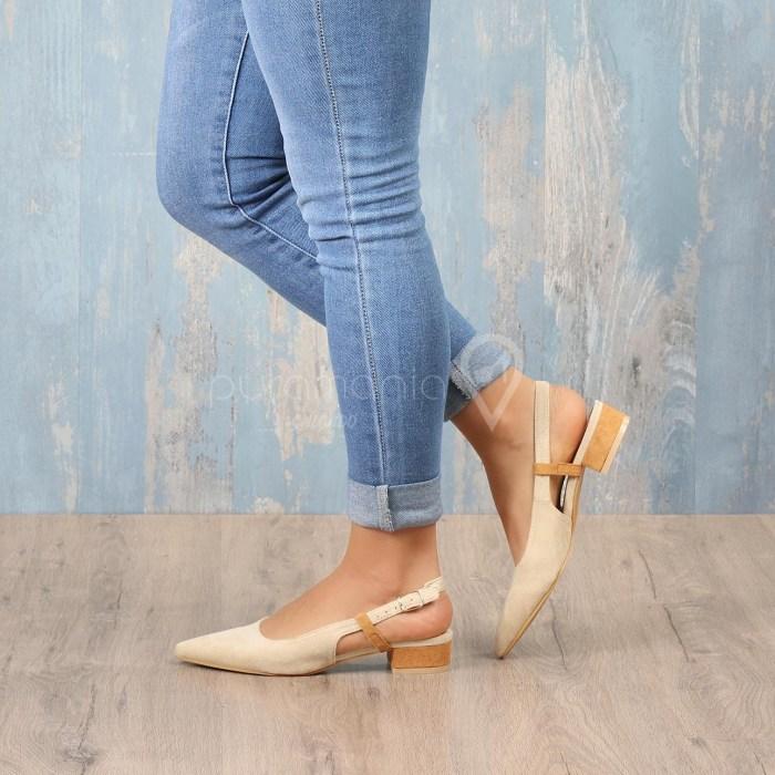 Sapato DIVINA Beige