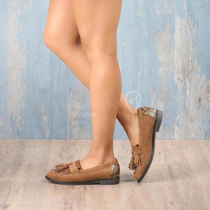 Sapato DOWNEY Camel