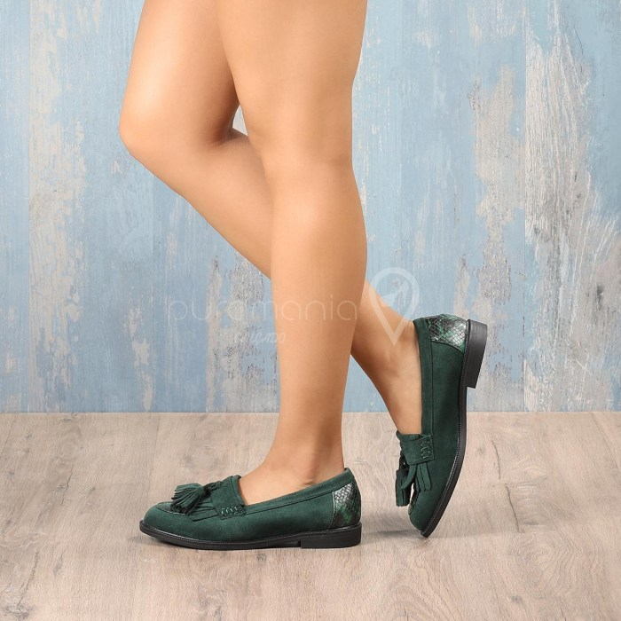 Sapato DOWNEY Verde