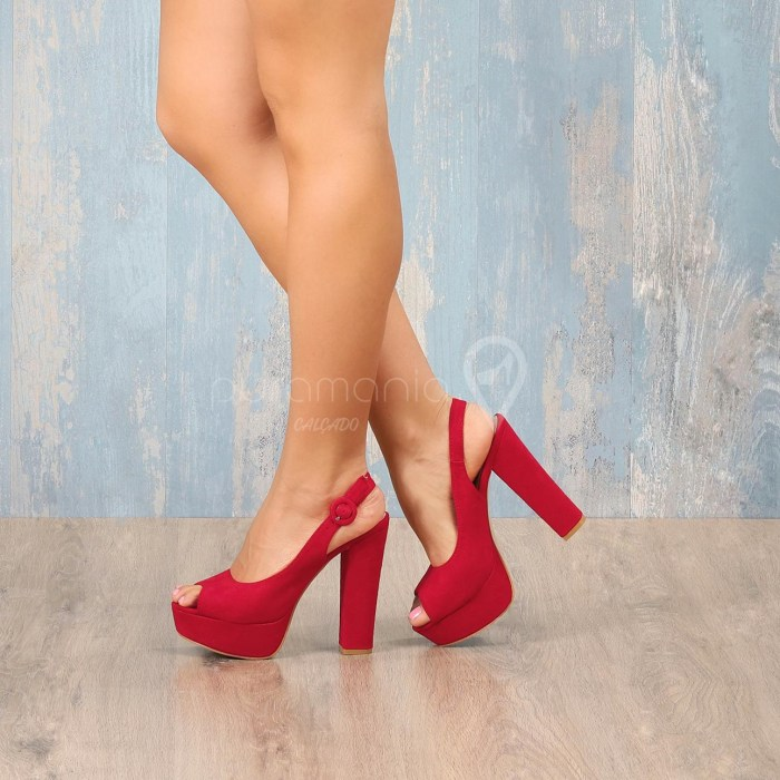 Sapato POWERUP Vermelho