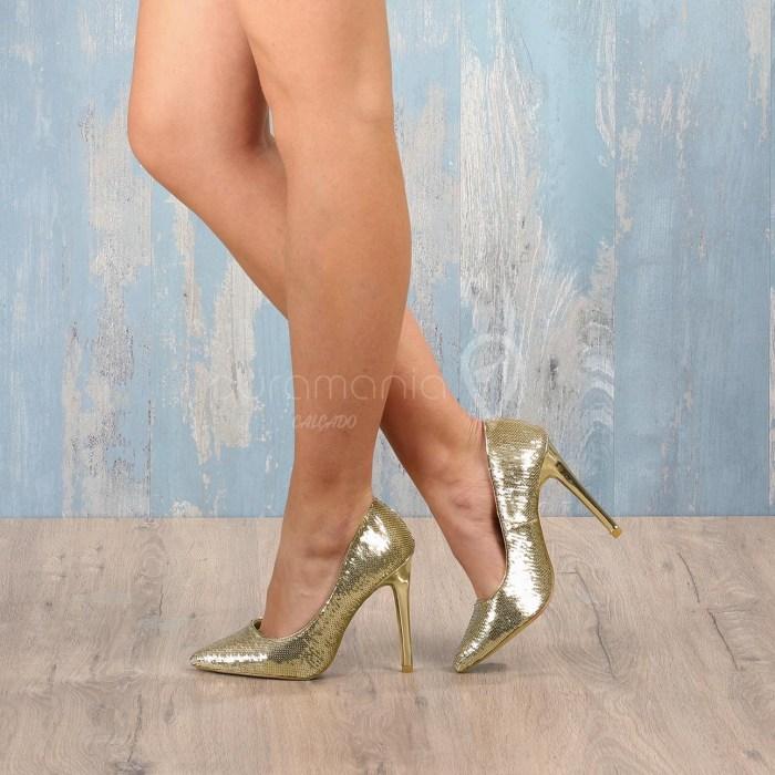 Sapato HAYARI Dourado