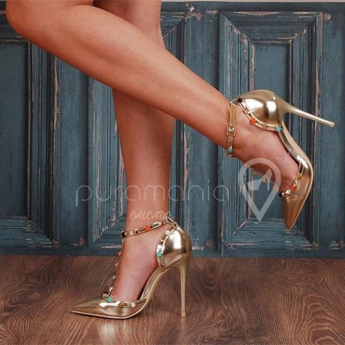 Sapato ROMA  Dourado