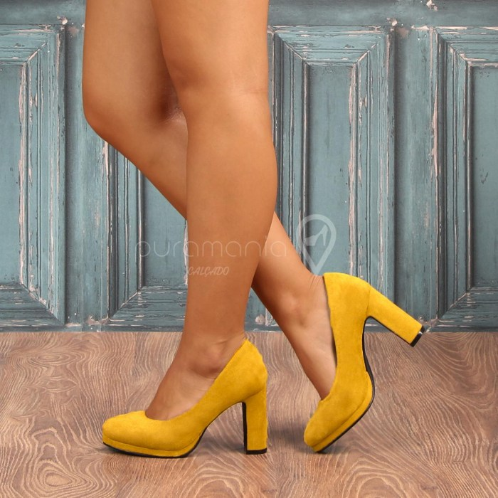 Sapato RITA STYLE Amarelo