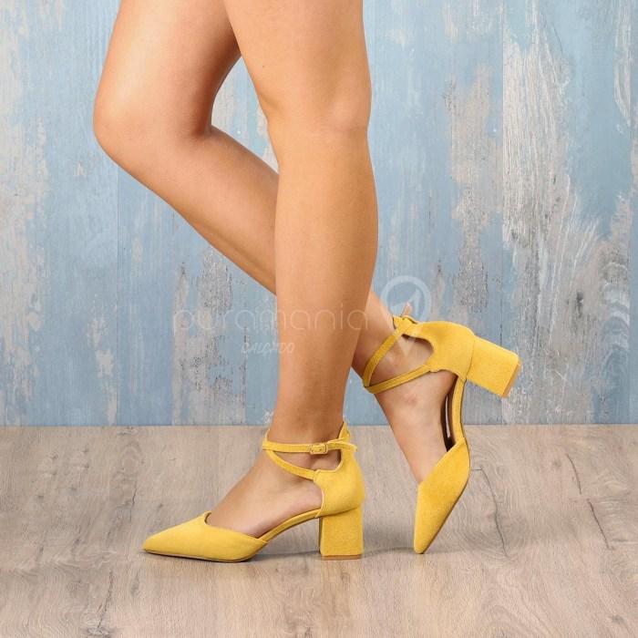 Sapato AWSOME Amarelo