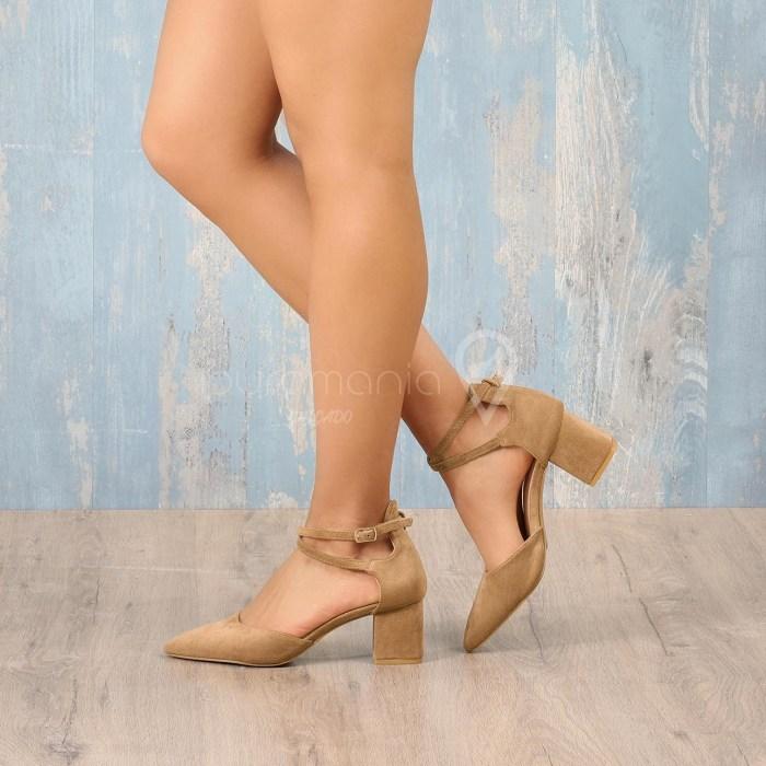 Sapato AWSOME Camel