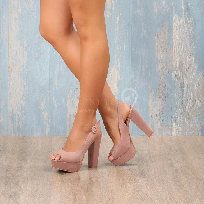 Sapato POWERUP Rosa