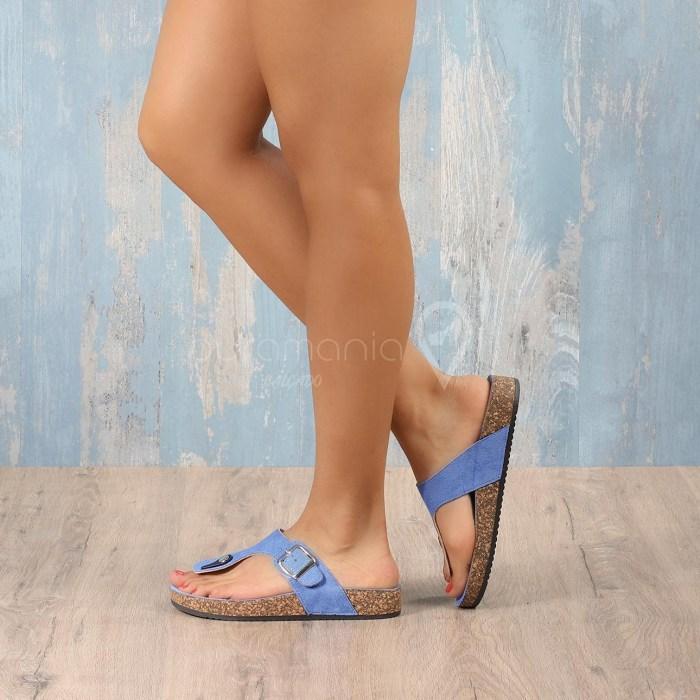 Slipper TOSCANIA Azul