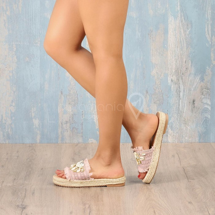 Slipper SEASHELL Rosa