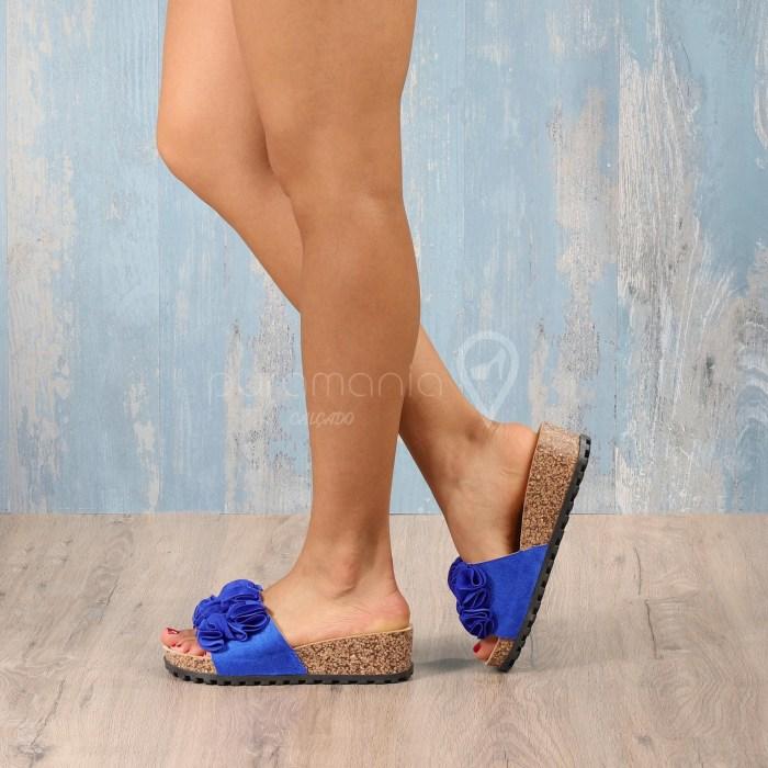Slipper SPIAGGIA Azul